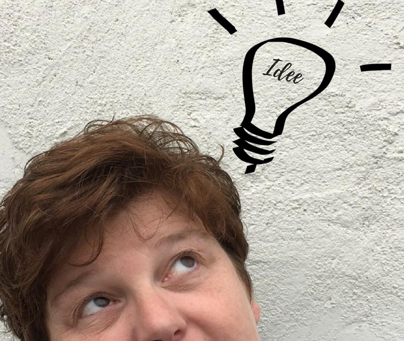 Een idee krijgen is prima, maar jij moet het in de praktijk brengen