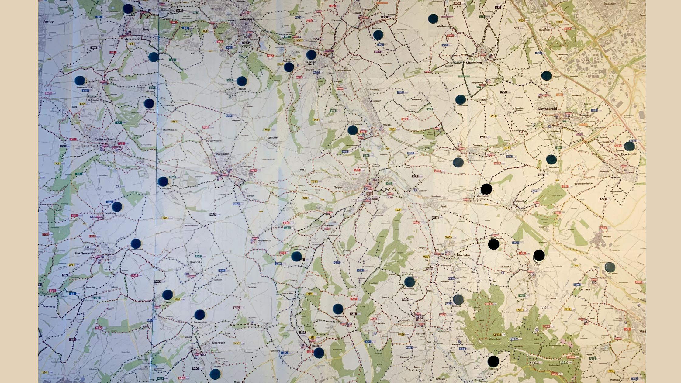 31 plekken die samen de Cammino della Fortuna vormen