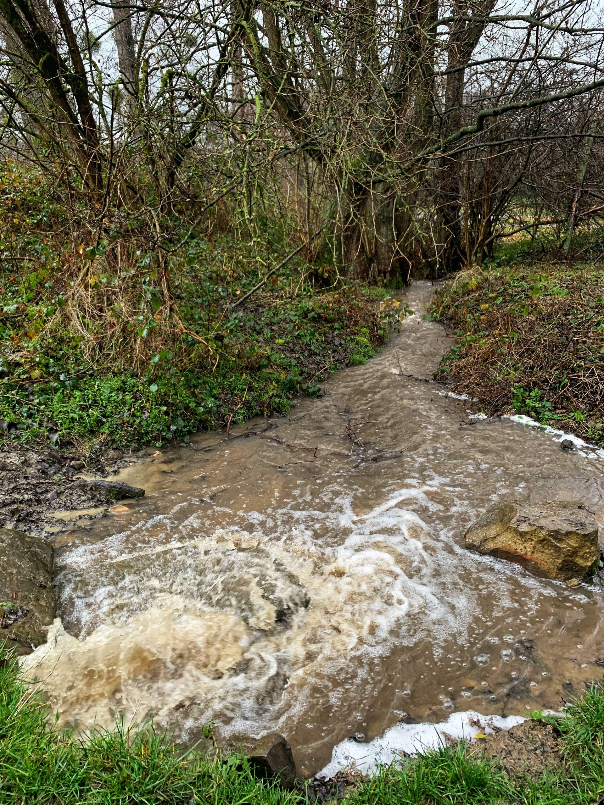 cammino della fortuna dag 12 waterstromen