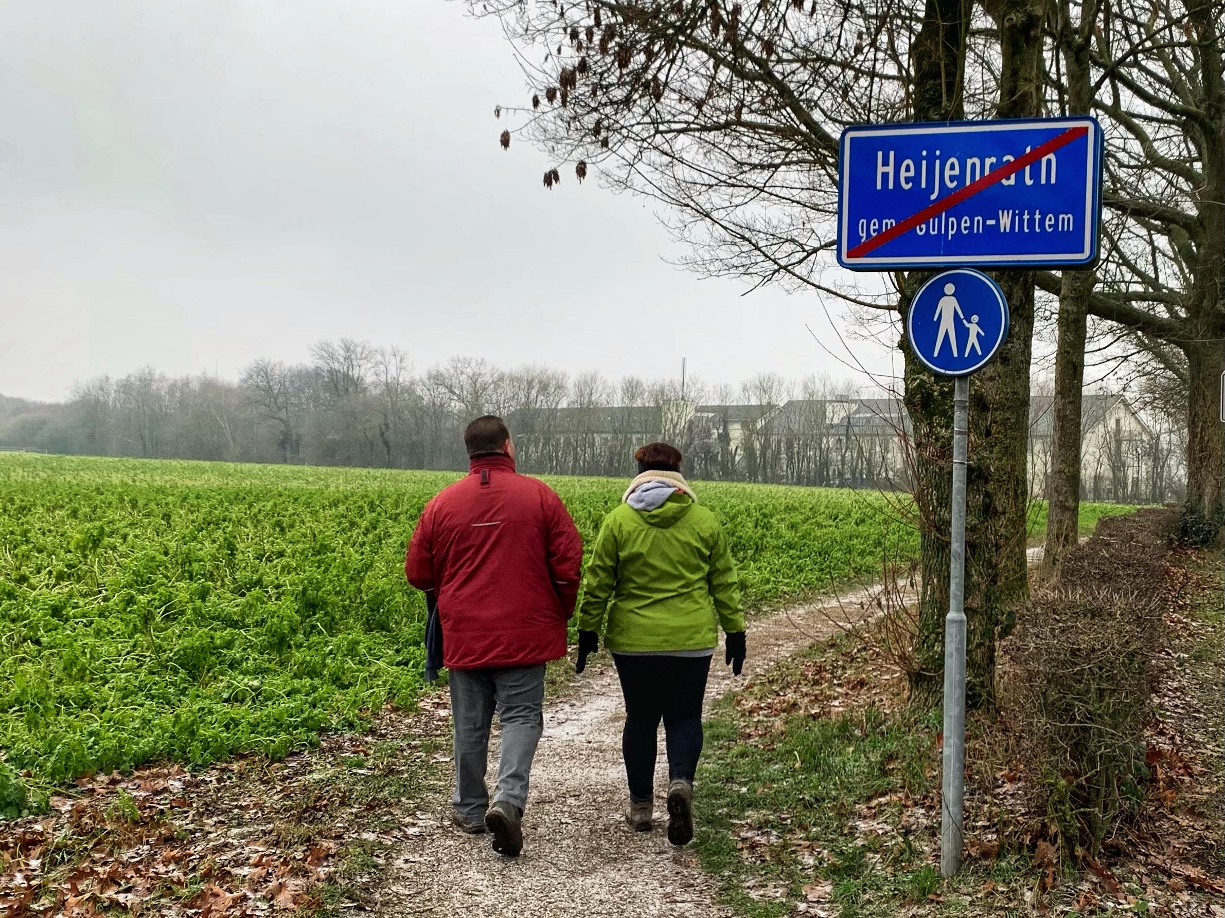 cammino della fortuna dag 15 uit heijenrath lopen